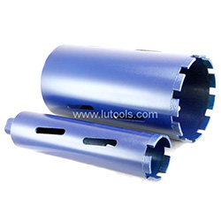 Silver Brazed Diamond Core Drill