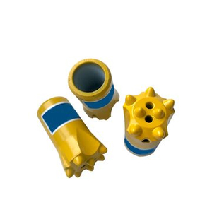 Long Drilling Footage R35-48mm Thread Button Bits for Gold Mines