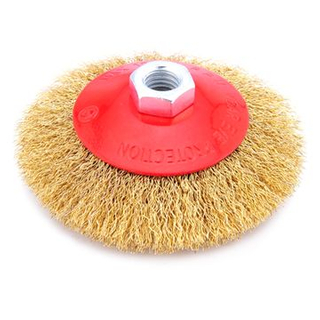 Steel Wire Cup Brush, Small Round Brush