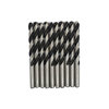 Black and White Color HSS Twist Drill Bit