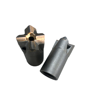 Cross Bit for Furnace Tapping Drill Bit