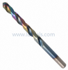 HSS Twist Drill Bits Fully Ground with Rainbow Color