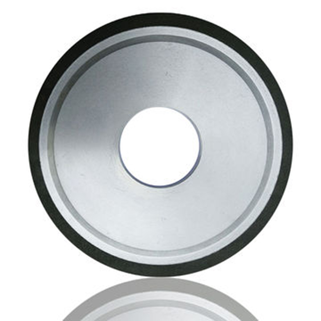 Diamond Resin Tapered Grinding Wheel with Double Edge