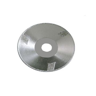 Electroplated Continuous Rim Diamond Blade with Cup Protectional Segment