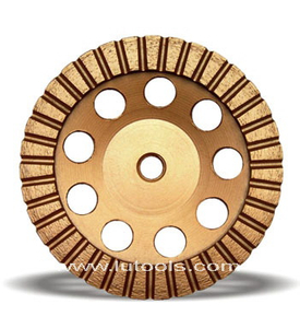 Continuous Ladder Segment Diamond Cup Grinding Wheel (DG-006)
