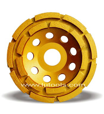 Double Row Diamond Cup Grinding Wheel (DG-002)