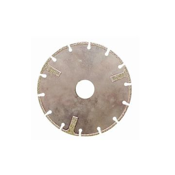 Electroplated Segmented Diamond Blade with 3 protectional Segment