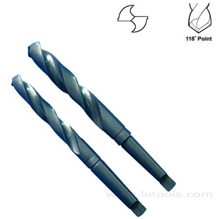 HSS Taper Shank Drills Fully Ground