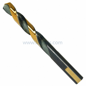 Three-Flats Shank HSS Twist Drill Bit